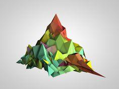 Mountain | Emilio Gomariz #emilio #polygon #gomariz
