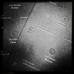 In progress   Flickr - Photo Sharing! #card #letterpress #business #stationery
