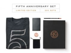 Ugmonk 5th Anniversary Set on Behance #photo