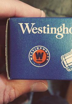 Type Hunting #westinghouse #logo