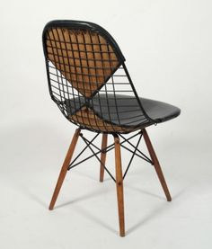 furacoco #frame #seat #chair #wood #wire #metal #eames