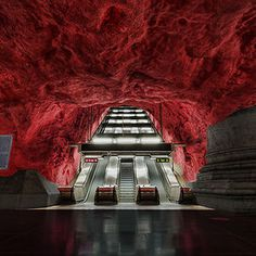Rådhuset Station, Stockholm, Sweden #photo