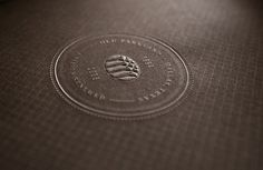Graphic-ExchanGE - a selection of graphic projects #seal #embossed