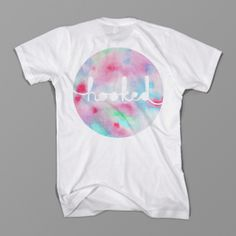 Nice print, t-shirt, tshirt, watercolour