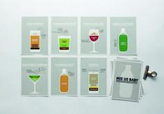LEMONAID #cocktailcard #design #graphic