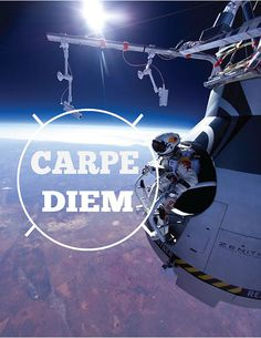 photo #red #typography #carpe #poster #diem #bull #cool