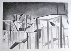 http://www.5piecesgallery.com/product/alexandra-pellissier-sans-titre-isolat-n3 #drawings #artist #art #contemporary