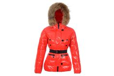 Moncler Women Gene Down Jacket Red #fashion
