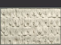 * THE GREAT WALL OF VAGINA * #exhibition #sculpture #vagina