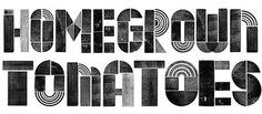 Midnight in the Garden of Type and Image - Brand New #ryan #rhodes #design #brand #identity #type #jbg