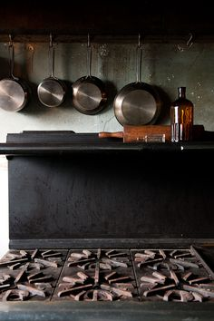 B L O O D A N D C H A M P A G N E » AN ABANDONED MENS CLUB IS NOW A HOME #pans #kitchen
