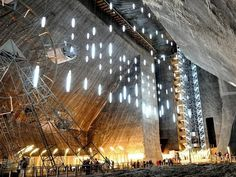 Abandoned Mine Transformed into a Museum – Fubiz™ #mine