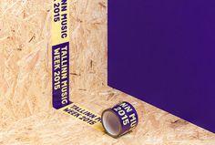 Tallinn Music Week by AKU #tape #brand