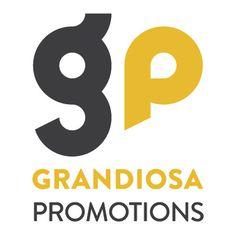 Grandiosa Promotions #logo #grid #orange #grandiosa