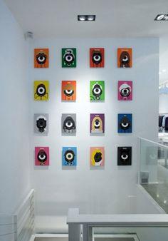 Craig & Karl: Darcel x colette | 123 Inspiration #famous #celebrities #exhibition #posters #portraits #craigkarl #cool