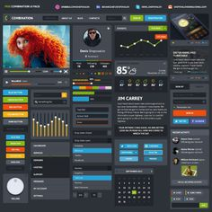 free UI psd #psd #free #ui #element #web