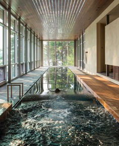 Whitefish Poolhouse & Gallery, Montana by Cushing Terrell