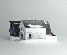 brokenhouses-9 #sculpture #house #art #broken #miniature