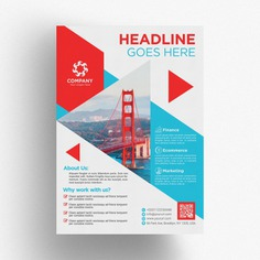 Red and blue business brochure template Premium Psd. See more inspiration related to Brochure, Flyer, Business, Cover, Template, Leaf, Blue, Brochure template, Red, Leaflet, Flyer template, Stationery, Elegant, Corporate, Creative, Company, Modern, Corporate identity, Booklet, Document, Identity, Page and Fold on Freepik.