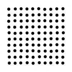 minimalvision 7 – Controlled excitation #circle #grid #minimal #geometric