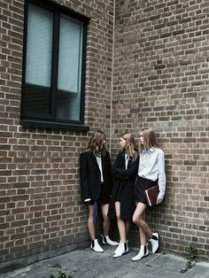 Fashion photography(Zara TRF, Fall 2013,Tilda Lindstam, Ondria Hardin &Kirstin Kragh Liljegrenby Patrick Demarchelier, viaphiloclea)