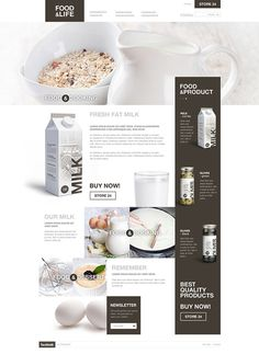 Food life #design #web