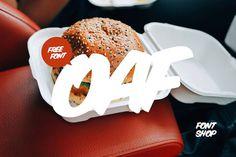 Oaf Free Marker Font