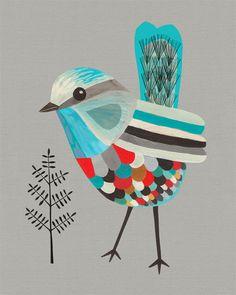 illustration / bird #bird