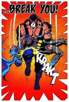 Hold Your Heathen Hammer High #dc #bane #batman #illustration #break #comics
