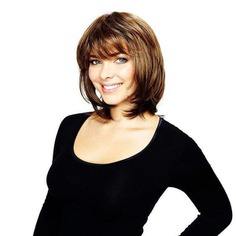 Purchase Sleek Hair Couture Angie Synthetic Mono Wig from cosmetize. Made from 100% Premium Synthetic Fiber with monofilament crown top and low net wig cap and it's an excellent choice for those who have hair lose difficulties or thin hair.