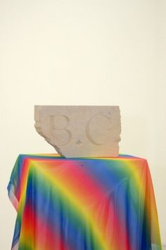 All sizes | The B.C. Stone by Martin Cole | Flickr - Photo Sharing! #color #stone #gradient