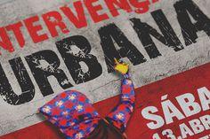 Cartaz Intervenção Urbana on Behance #moodboard