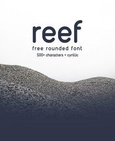 REEF – Free Round Font