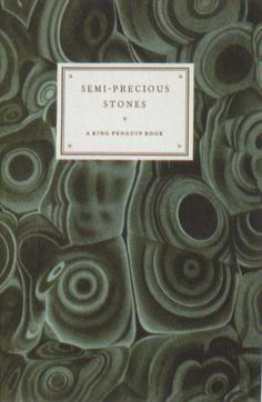 Penguin Books - Semi-Precious Stones #covers