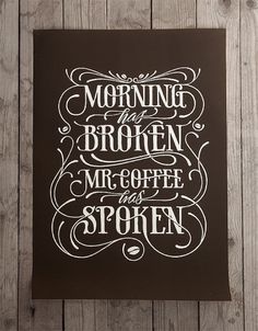 Morning has broken on the Behance Network