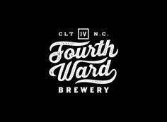 Fourth Ward Brewery Identity by Matt Stevens via www.mr-cup.com
