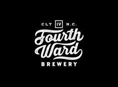 Fourth Ward Brewery Identity by Matt Stevens via www.mr-cup.com