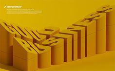 Typography, 3D