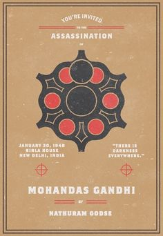 Invitation To An Assassination #assassination #gandhi #mohandas #invitation