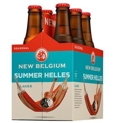New Belgium Summer Helles #packaging #beer