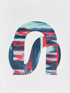 Amy Woodside | PICDIT #design #letter #painting #art #type #typography