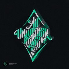 All sizes | All unwritten rules of 52's | Flickr - Photo Sharing! #vector #typo #typography