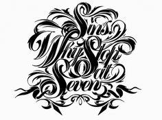Graphic Design & Web Design Blog: Like Minded Studio - Typography Work