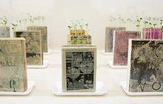 Manga farming ::: Pink Tentacle #print #art