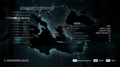 Assassin's Creed Map #creed #game #assassins #map