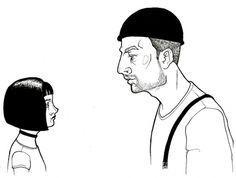 Kitzekatze #movie #white #leon #black #illustration #and #drawing #sketch