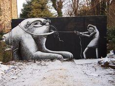 Street art in Sheffield #abstract #surrealism #art #street #surreal