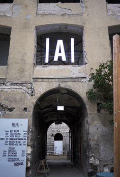 amoeba group + szoke gergely : anker't ruin bar #sign #signage #budapest