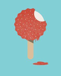 Brock Weaver | Ice Cream #cream #ice #illustration
