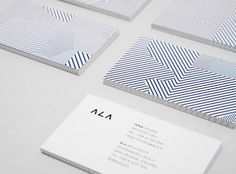 ALA Architects | Lovely Stationery #stationary #logo #corporate #branding